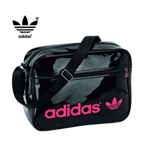 sac reporter adidas noir et rose