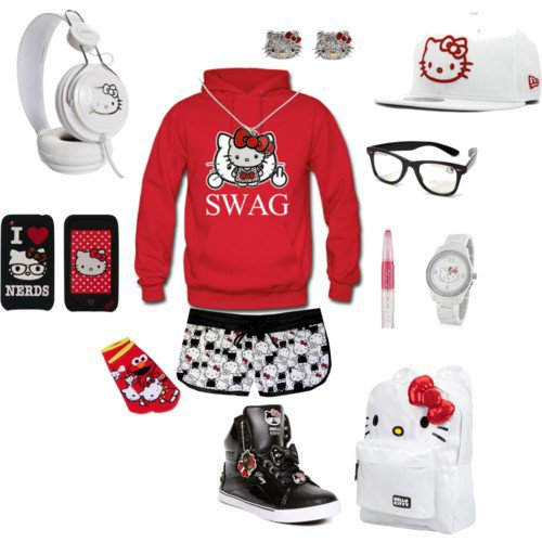 Image Hello Kitty Swag...