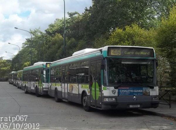 Ligne 46 bus renault agora 3 clim n 7835 blog de ratp067 - Ligne 118 bus ...